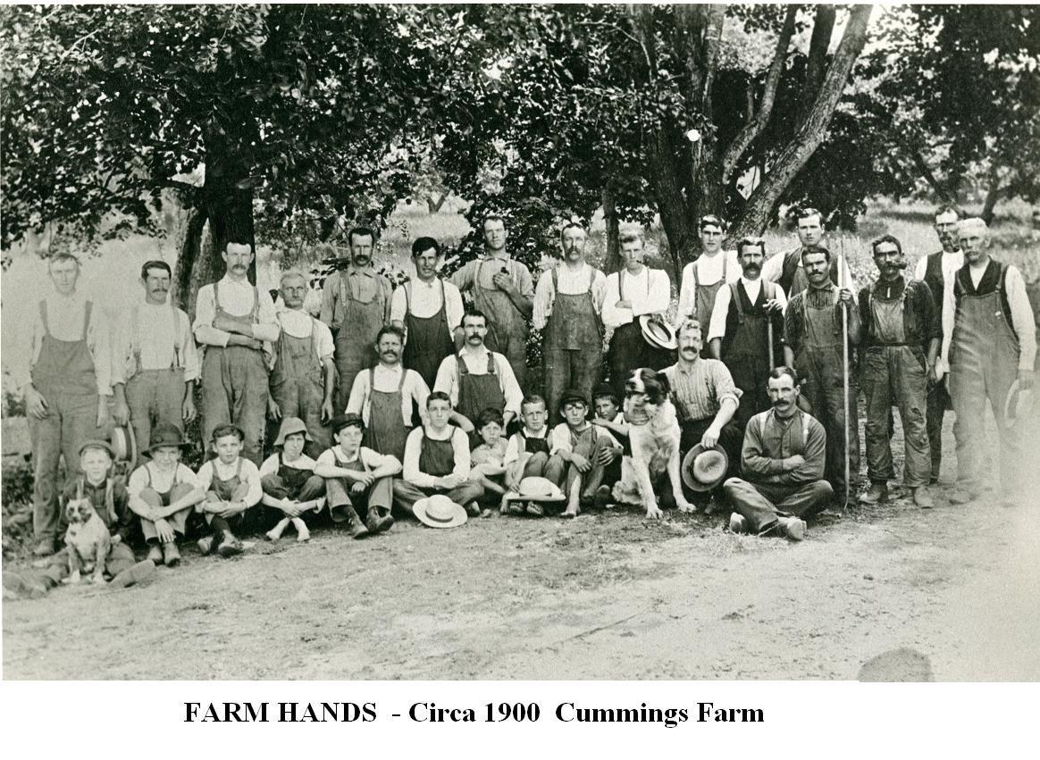 KLCD Cummings Farmhands c.1900