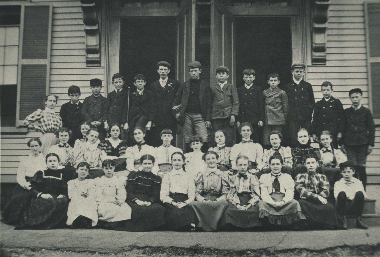 Plympton School c.1885