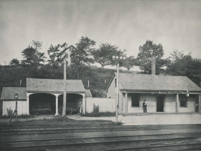 Walnut Hill Train Station