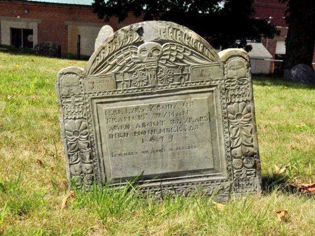Wyman Francis 1699 Gravestone