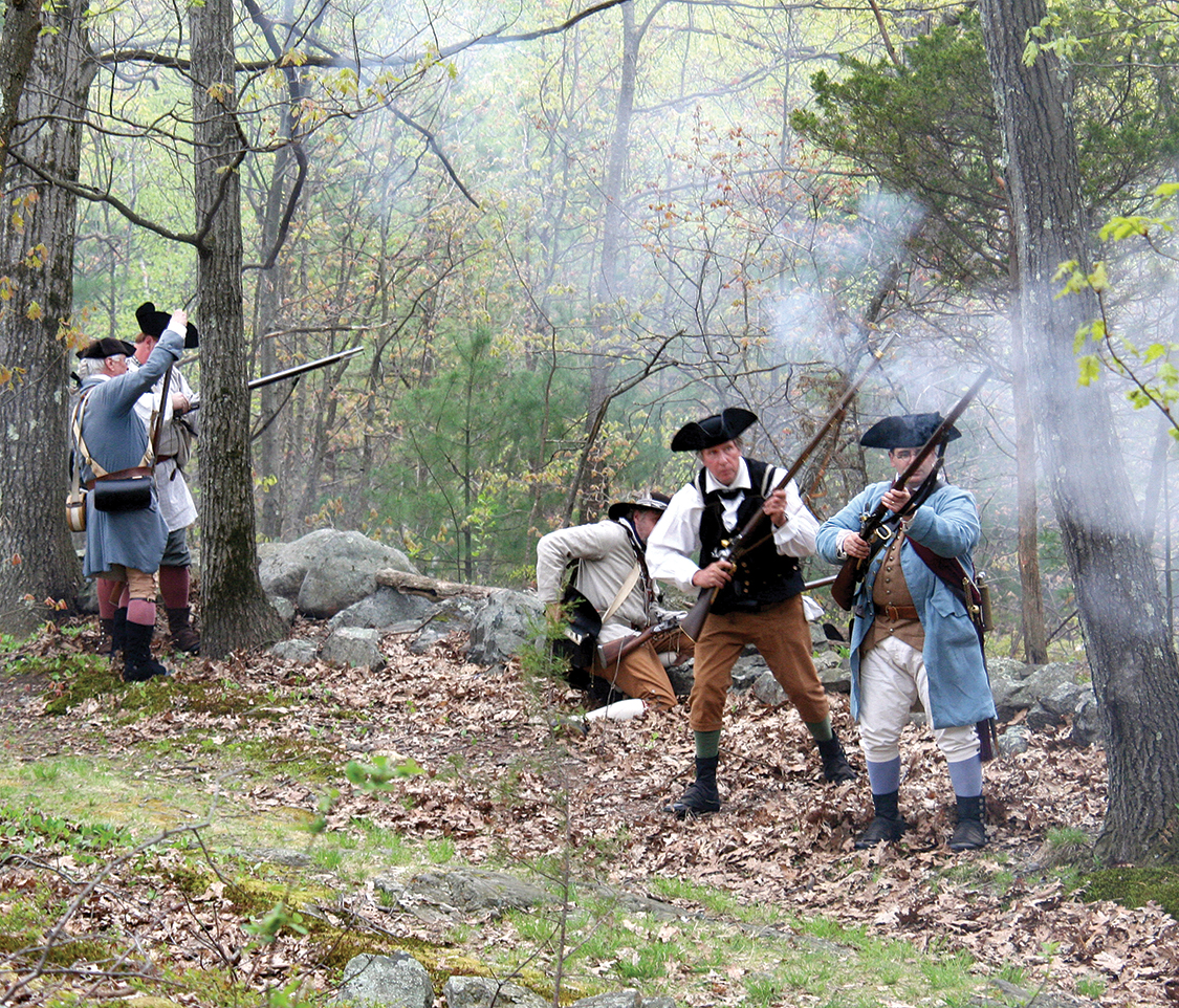 Militia on Battle Road